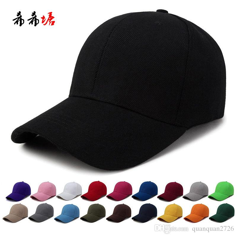 23f2fda8f 2017 Cool Style ! New Fashion Tide Caps Baseball Cap Hip-hop Hats For Men  Women Fitted Hat Black White Red