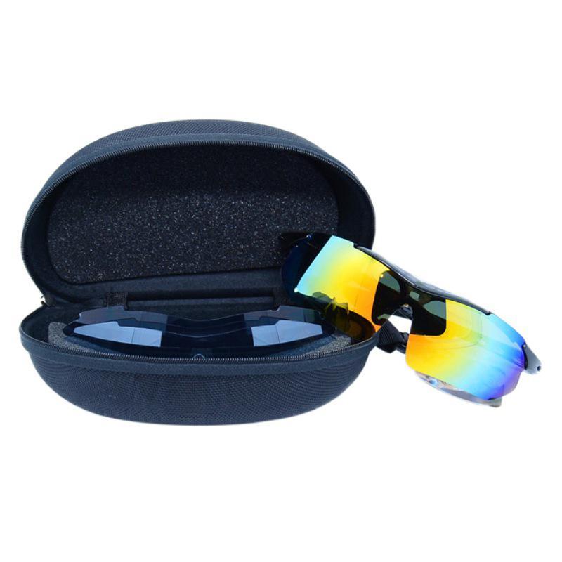 d11b158e1aa0d Compre Anti Pressão EVA Caixa De Zíper Grandes Óculos De Sol Caso De Óculos  De Esqui Esportes Multi Peça Terno   Médio Ciclismo Esqui Óculos Caso Pro  De ...
