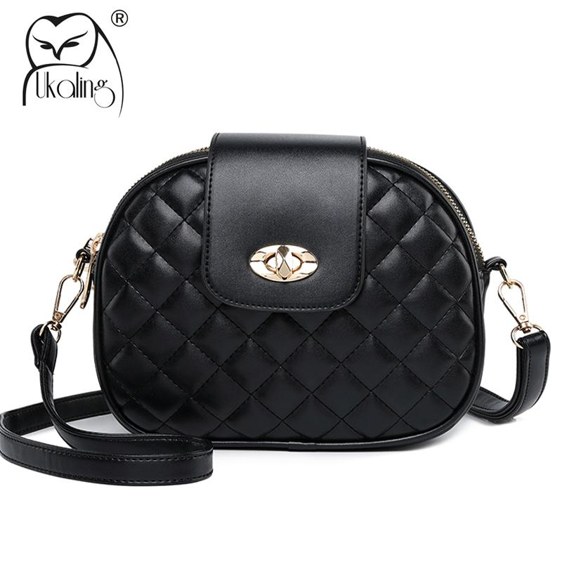 16b6793af6f5 Designer UKQLING Flap Bags Handbags PU Leather Women Messenger Bags Women  Bag Women S Shoulder Bags Small Handbag Ladies Purse With Lock Ladies Purse  ...