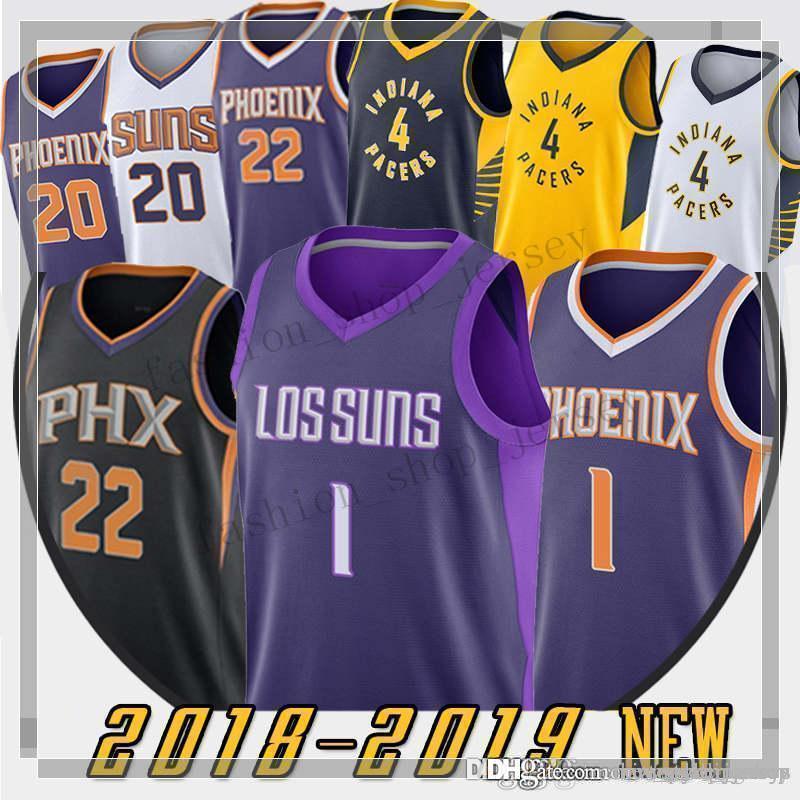 new style 95430 dfcc7 DeAndre 22 Ayton Phoenix Men jerseys Suns Devin 1 Booker Charles 34 Barkley  Victor 4 Oladipo Josh 20 Jackson jerseys Oladipo