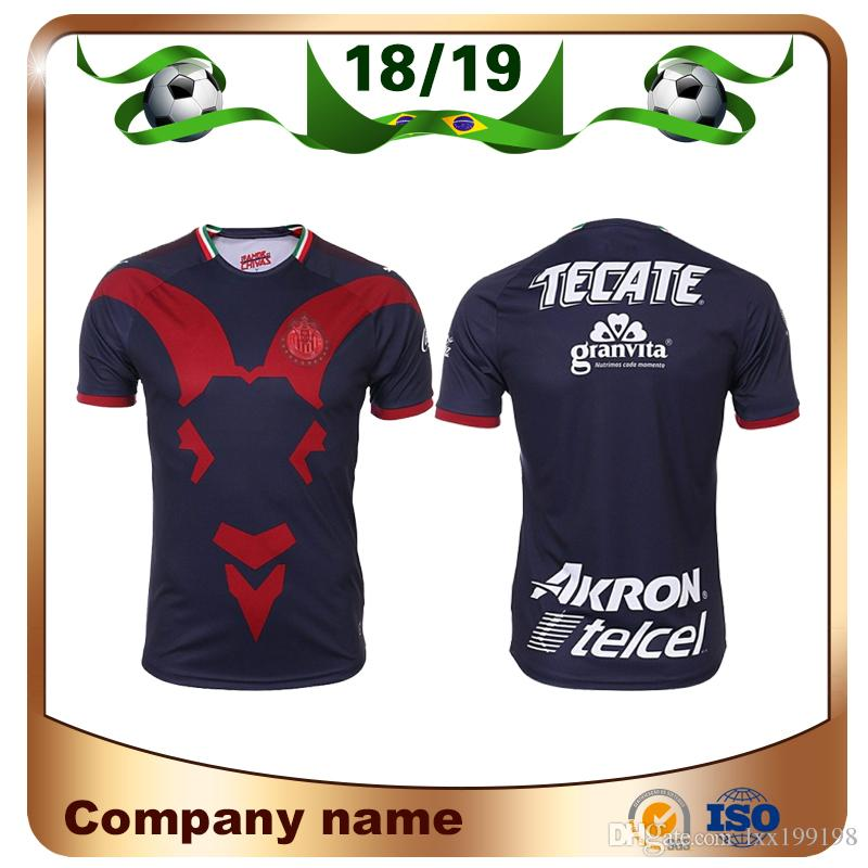 2019 18 19 Mexico Chivas Soccer Jersey 2019 Chivas 3rd Soccer Shirts E.  LOPEZ O.PINEDA A.PULIDO Football Uniform Sales From Lxx199198 ad08049d9