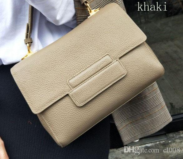 Designer handbag Women fashion shoulder bags 26cm wide crossbody lichee grain real leather super value leather bags