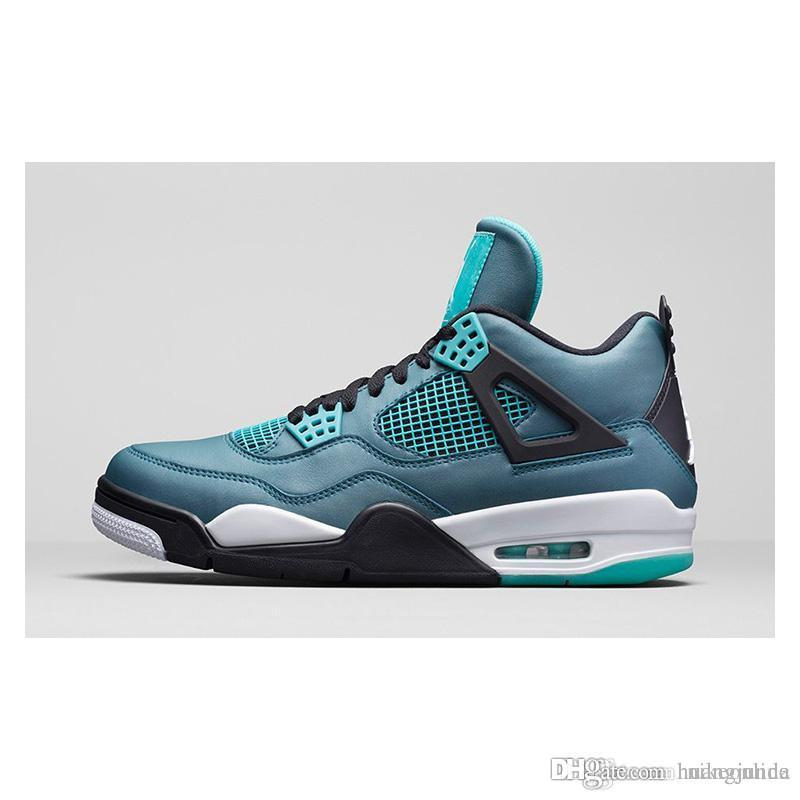 timeless design 4d47c 0e5df Cheap Cheap Womens Jumpman Retro 4s Basketball Shoes Eminem Encore Grey  Suede Snakeskin Ginger Teal DB J4 Air Flight Sneakers for Youth Kids Sale