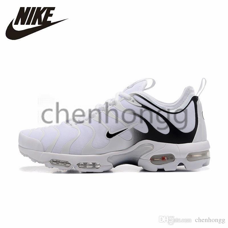 najnowszy 50% ceny przemyślenia na temat 2019 Original Nike Air Max Plus Tn Ultra Original Airs Maxs Men Running  Shoes White Black Yellow Comfortable Breathable Outdoor Sport Sneakers  #898015 ...