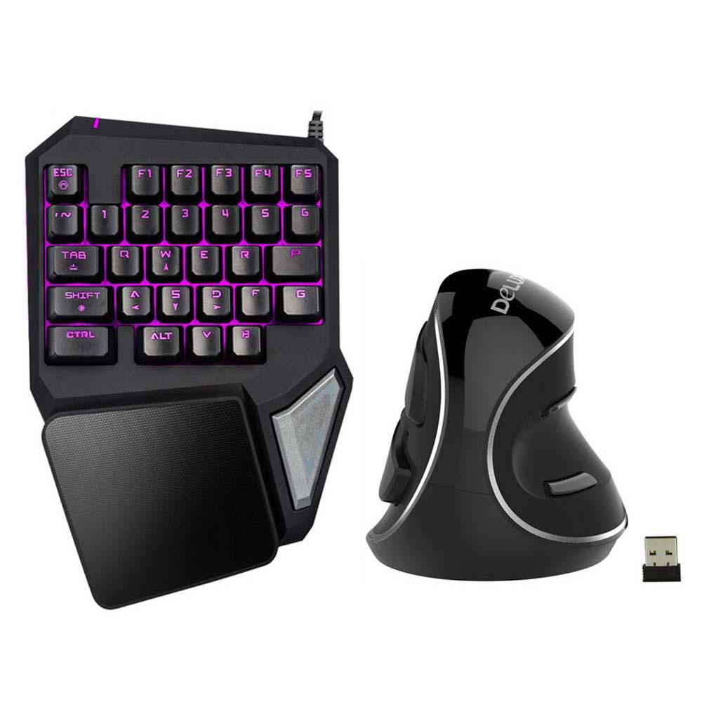 e3ed5819fa8 2019 Delux T9 Pro Gaming Keyboard Wired Professional Keyboard Single Hand  Keypad Ergonomic Vertical Mouse Mice Computer Gaming Mous From Umbre, ...