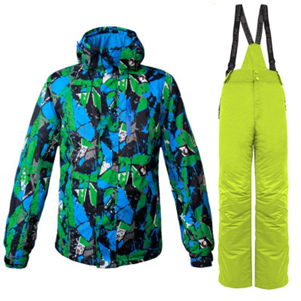 2019 Men Winter Outdoor Ski Wear Snow Windproof Jacket + Pants Hooded  Snowboard Suit Breathable Warm Sportswear Hot From Pearguo f9dbfba10