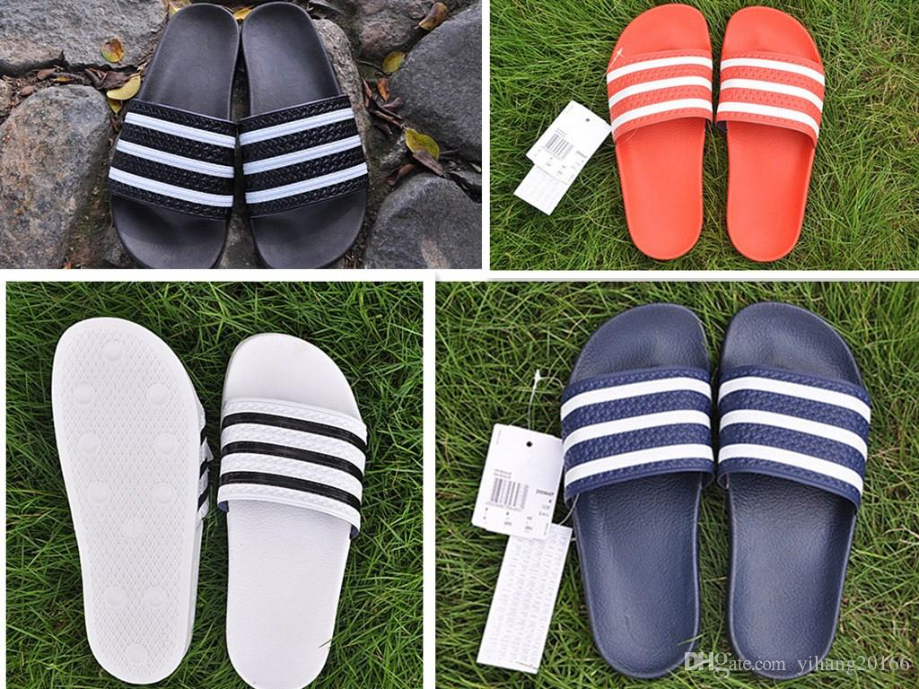 29f389c8618dd Hot Brand Designer Slippers High Quality Slides Men Shoes Designer Women  Sandals Huaraches Flip Flops Loafers Boots Sneakers Size EUR 37 45 White  Boots ...