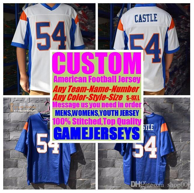 more photos 5197e 997ad Custom american football jerseys college cheap authentic baseball sports  jersey stitched mens womens youth kids 4xl 5xl 6xl 7xl 8xl wears