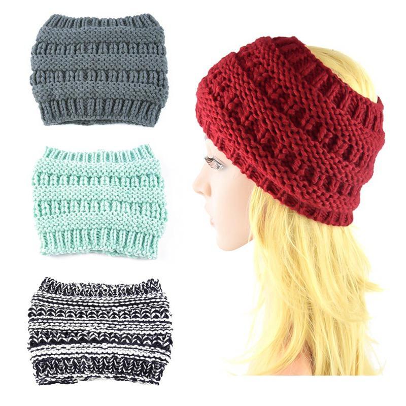 Women Knitted Headband Winter Warmer Head Wrap Hairband For Ladies Woolen  Crochet Fashion Hair Band Accessories Hair Accessories Cheap Hair  Accessories ... 69c4cb84ed6e