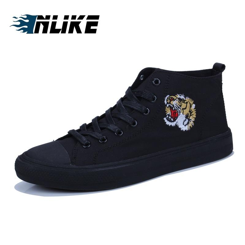 INLIKE NEW Fashion High Top Men Skate Board Shoe Camouflage Men'S Ankle Boots Footwear For Man Autumn Casual Shoes