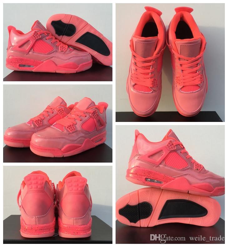 Acquista New 4 NRG Hot Punch Mens Scarpe Da Basket Da Donna Rosa Moda  Ragazzi Jumpman Designer Brand 4s Sneakers Sportive Da Ginnastica AIR  Chaussures A ... 0cc72ae6a0b
