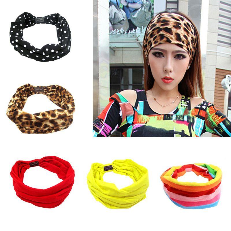 2019 Wide Yoga Hair Band Girls Headband Designer Headband Bandana Headbands  Gifts Head Scarf Xmas Gifts For Women From Ficoco 358d02b0ba9