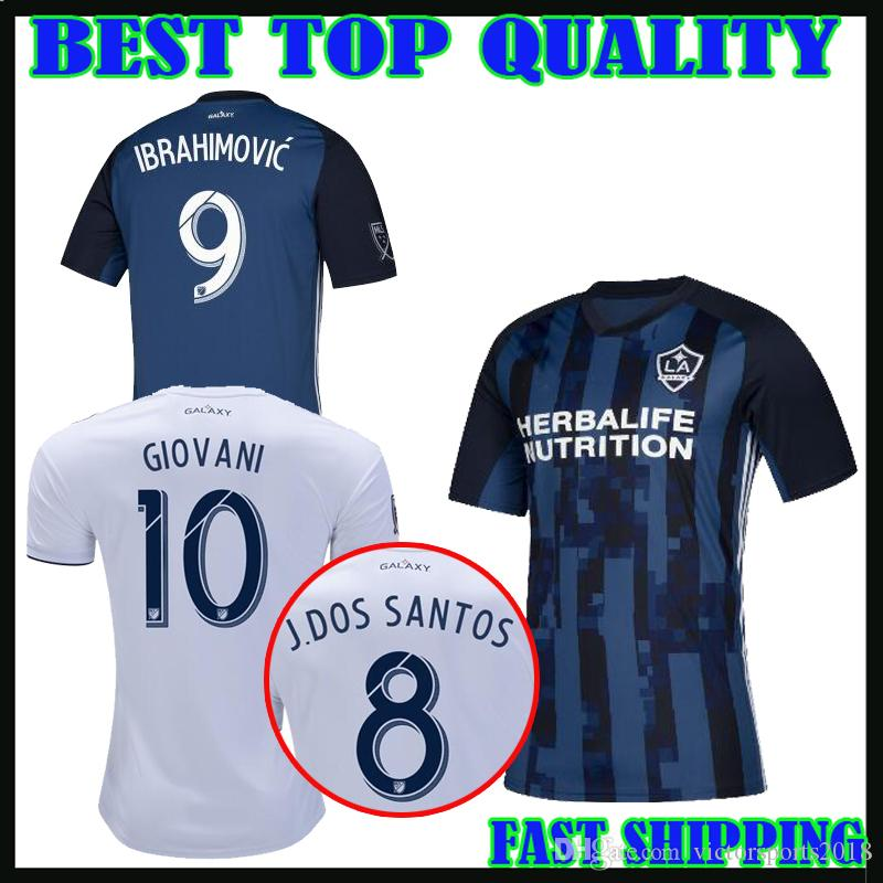 2019 2019 Ibrahimovic Los Angeles Soccer Jersey 2020 La Galaxy Home Away 19  20 GIOVANI COLE ALESSANDRINI KAMARA Jones ROGERS Football Shirts From ... 12012f640