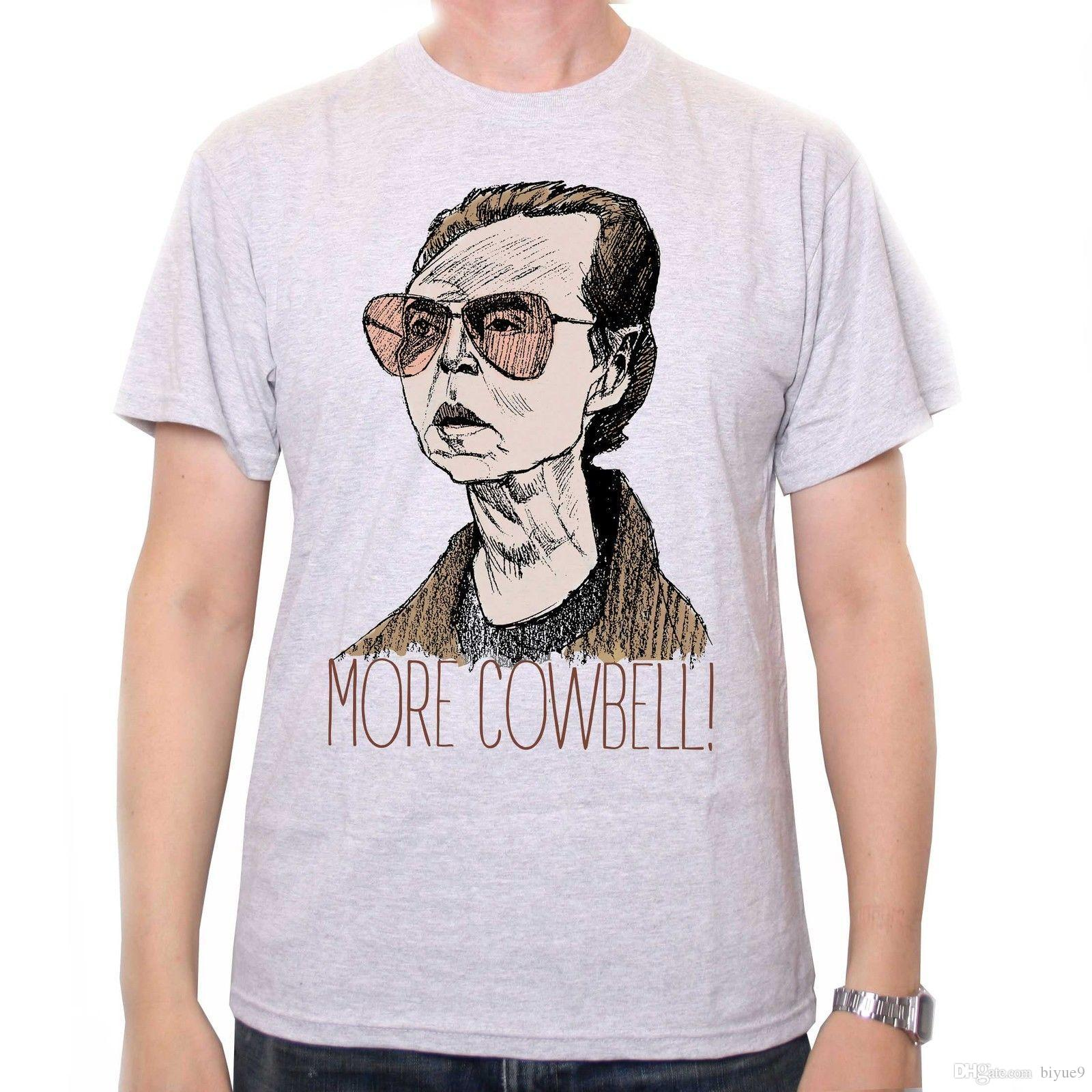 More Cowbell T Shirt Classic Saturday Night Live Inspired Cult Tv