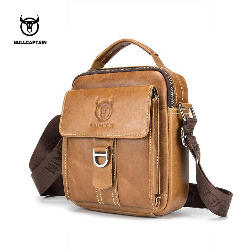 BULLCAPTAIN Men Shoulder Bag Classic Brand Men Bag Vintage Style Casual Men  Messenger Bags Promotion Crossbody Bag Male Hot Sell Online with   37.13 Piece on ... 61531dcf11894