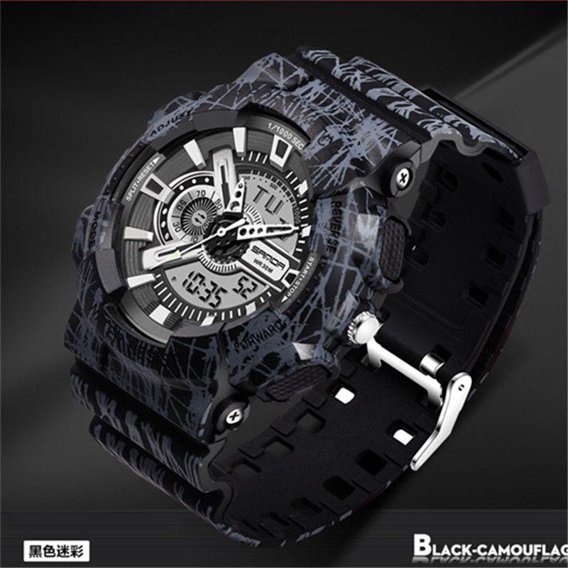 2a88bb0d06be Compre Ejército Relojes Retroiluminación Digital Relogio Masculino Reloj De  Alarma Hombres Militar LED Relojes De Pulsera 799 Hombre Reloj Militar ...