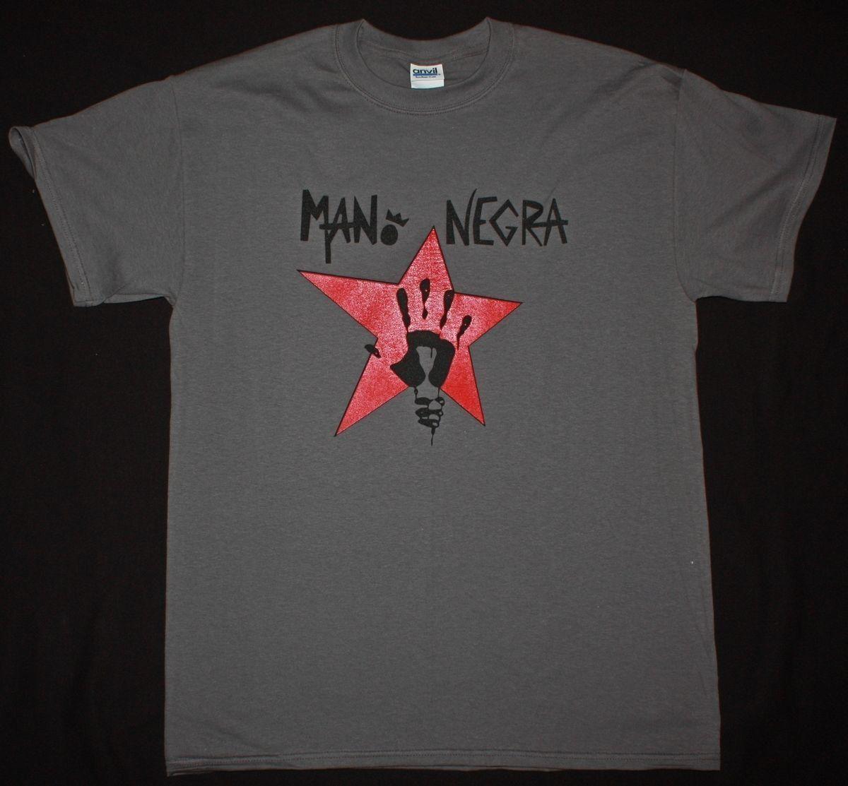 Mens Designer T Shirts Shirt Mano Negra King Of Bongo Manu Chao Mala