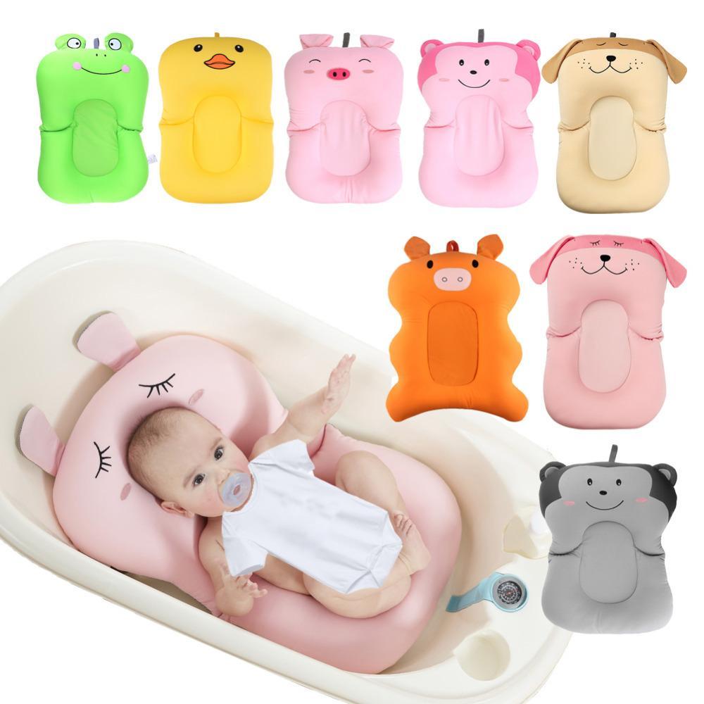100% QualitäT Baby Dusche Tragbare Air Kissen Bett Babys Infant Baby Bad Pad Non-slip Badewanne Matte Neugeborenen Sicherheit Sicherheit Bad Sitz Unterstützung Babypflege