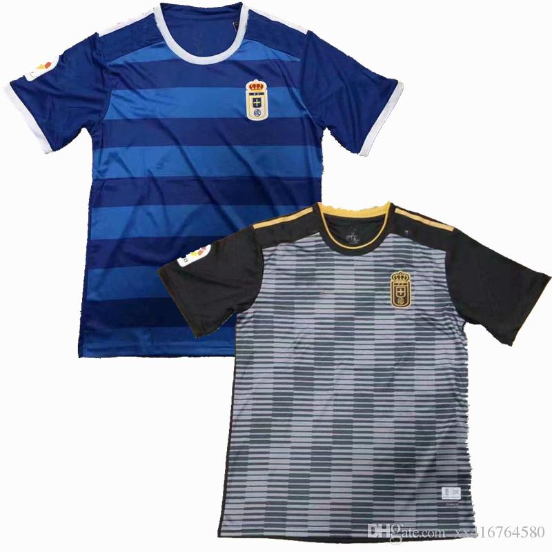 18 19 Real Oviedo Camisetas De Fútbol 2018 2019 Camiseta De Fútbol Camiseta  De Local S 2XL Por Xx416764580 f99d7ede3fcc4