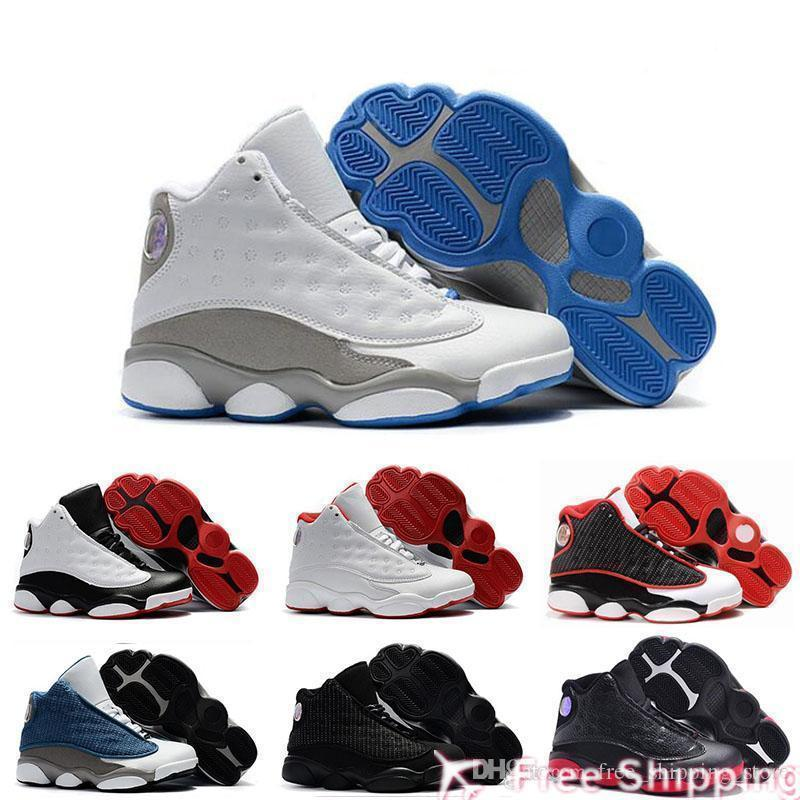 Fashion 13 Kids Cheap 13s Basketball Shoes Chicago He Got Game Bred Altitude Dmp Boys Girls Sneakers Children Baby Sports Shoes Size 11c-3y