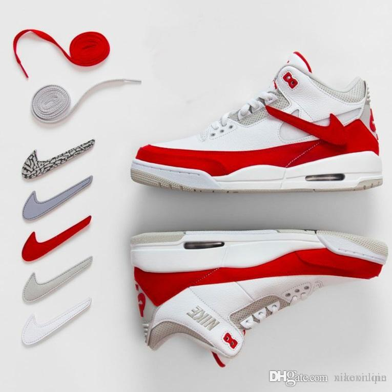 9b354deefe3b 2019 Cheap Mens 3s Basketball Shoes Retro Aj3 White Red Multi XX Black Red  Tan Grey Green J3 Kids Jumpman Air Flights Sneakers Boots With Box From ...