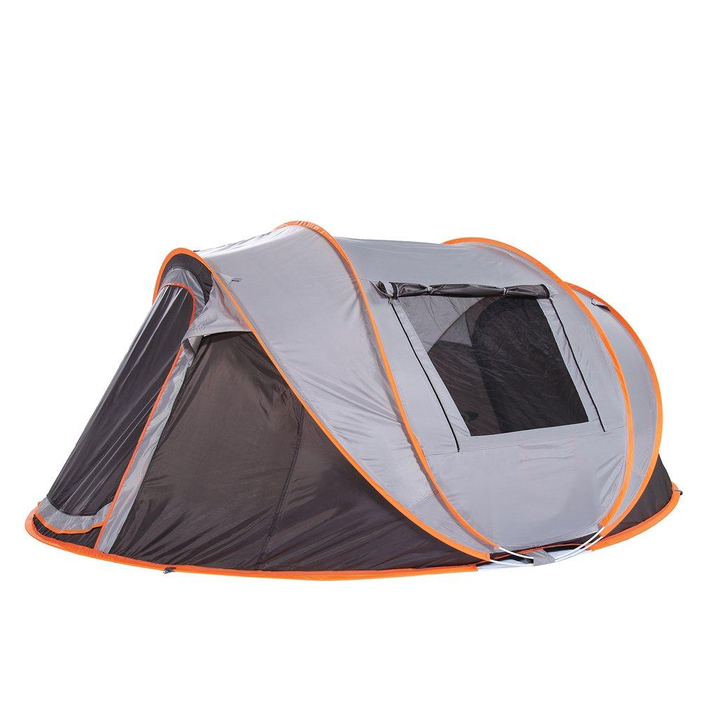 b45fa52e86e OUTAD Outdoor Automatic Tent Camping Tent 3 4 Person Quick Opening  Windproof Waterproof Beach Large Space 2018 HOT 3 Man Tents Camping  Equipment From ...
