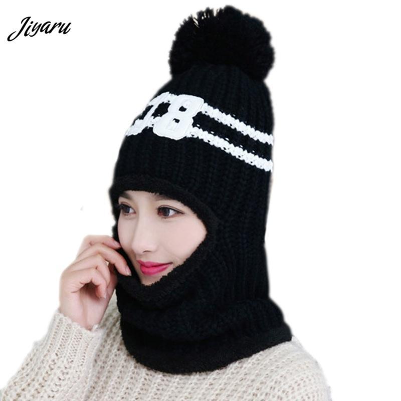 2018 New Girls Autumn Winter Hats Women Beanies Caps Girls Stylish Beanies  Skullies Ladies Stretchy Female Knitted Hats Beanie Hats Beanie Hat From ... c13eb2261ae8