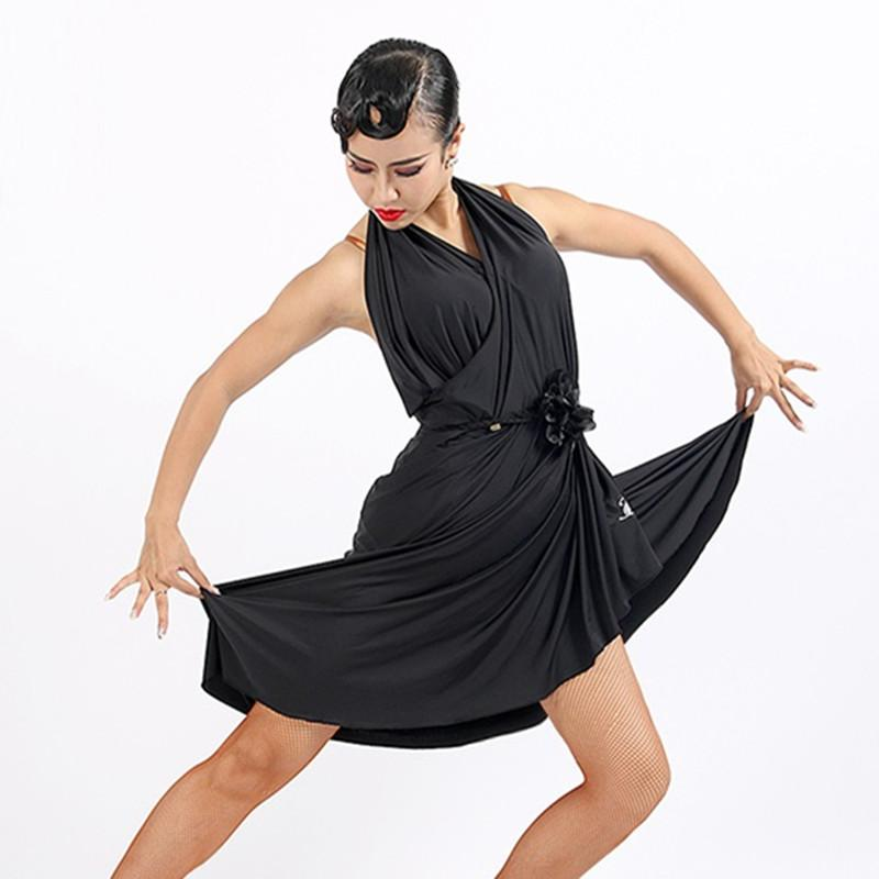 01d502d15 2019 Black Latin Dance Dress Women Latin Dress For Sale Samba Costumes Salsa  Dance Costumes Practice Wear From Xinpiao, $112.64 | DHgate.Com