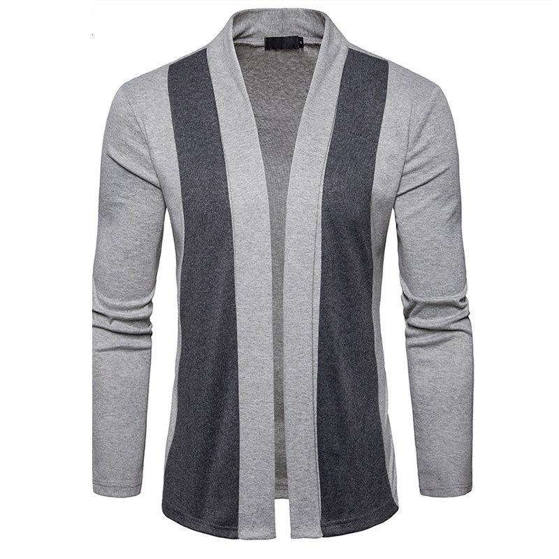 e7373feae4b 2019 New Arrival Patchwork Sweater Men Fashion Pattern Design Korean Style Long  Sleeve Male Cardigan Sweater Slim Fit Casual Sweater From Jamesli_1205, ...