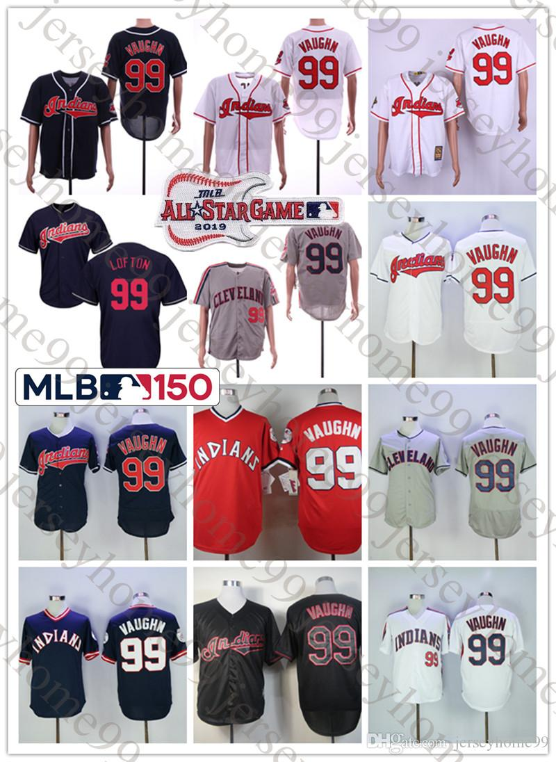 2019 Men S Cleveland Indians Ricky Vaughn Majestic White Red 2019 Flex Cool  Base Player Jersey With All Star Game 150th Patch From Jerseyhome99 269cd9bbb6ea