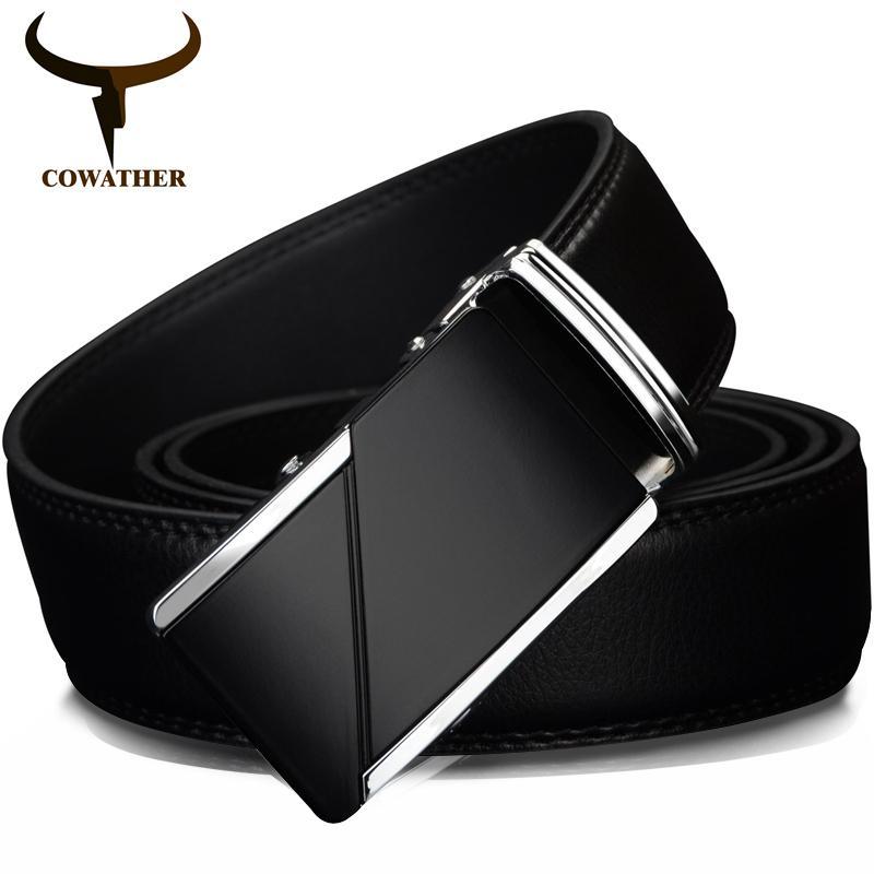 8d47b38b8f Compre Cowather Cow Cintos De Couro Genuíno Para Homens De Alta ...