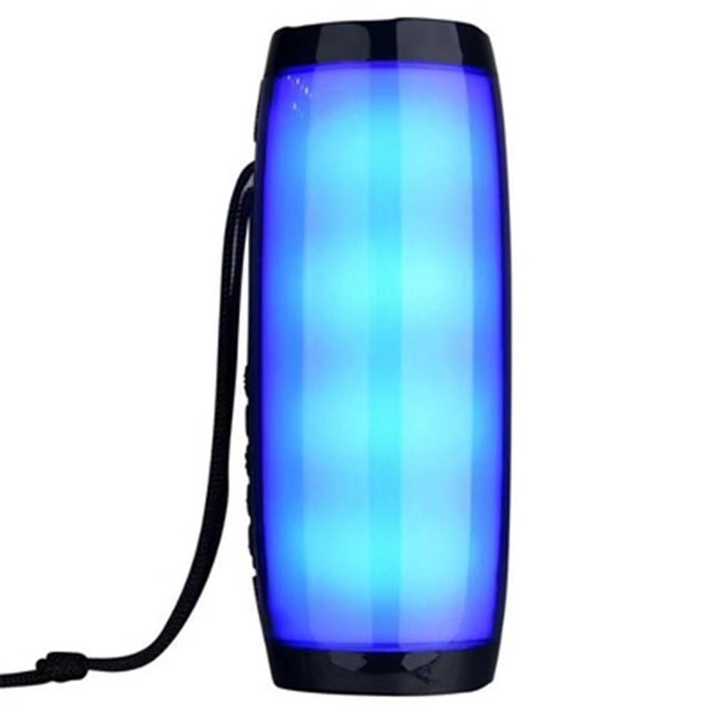 TG157 Портативный светодиодные лампы спикер водонепроницаемый Fm Радио Беспроводной Бумбокс Мини колонки Сабвуфер Sound Box Mp3 USB Phone Компьютер Басс DHL