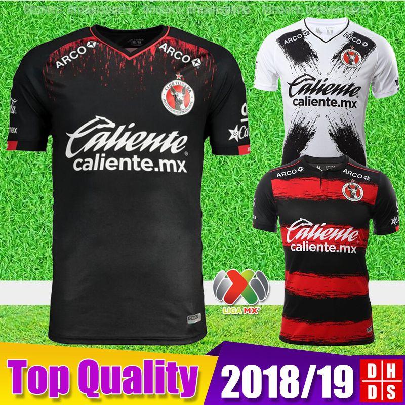 50aa560ca69 2018 2019 Xolos De Tijuana CHARLY Soccer Jerseys AP 18 19 Mexico ...