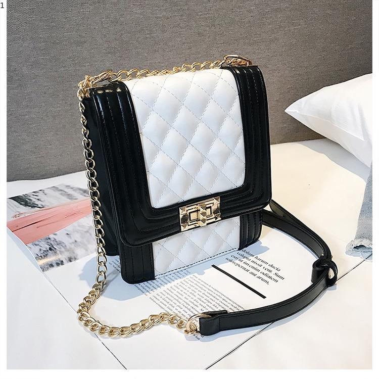 db4a38029ec4 Latest Brand Women Bag Simple Top Handle Bags Small Female Chain Handbag  Fashion Shoulder Bag Purse Ladies PU Leather Crossbody Bag Leather Bags For  Women ...