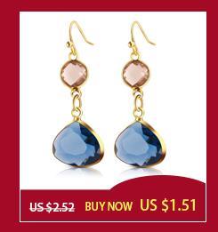Punk Clip Earrings Without Piercing Gold and Silver Color Long Chain Tassel Earrings Women Jewelry Ear Cuff No Pierced