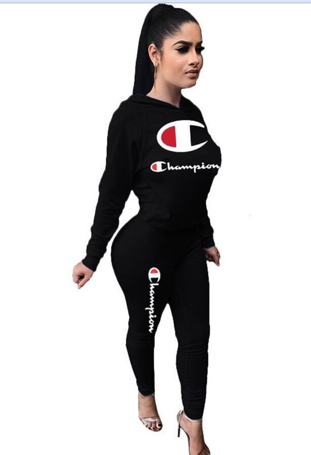 591527caa912e4 Vender bem 2019 marca C desgaste das mulheres Impresso Alfabética Vestuário  Marca Designer Desgaste feminino Roupas de lazer Marca Designer