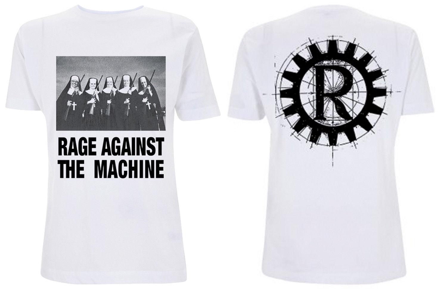 ddd855da67 Compre Camiseta Monjas Y Pistolas De Rage Against The Machine NUEVA Camiseta  Masculina OFICIAL OFICIAL