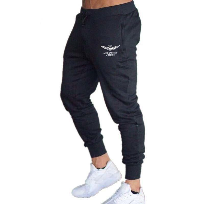 2019 Aeronautica Militares Sport Sweatpants Man Pants Air Force Suit Italy Teenager Loves Outdoors Clothing Free Shipping