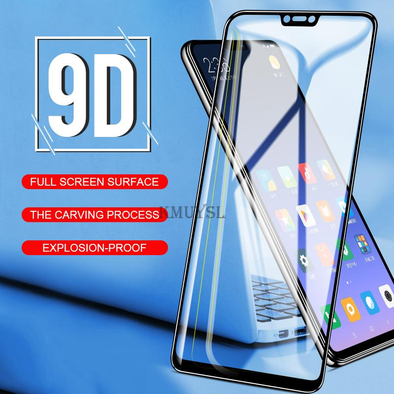 9D Full Cover Tempered Glass for Huawei Y9 2019 Y5 Y6 Prime 2018 Glass on  Honor 7A 7C Pro RU Mate 10 Pro lite Screen Protector