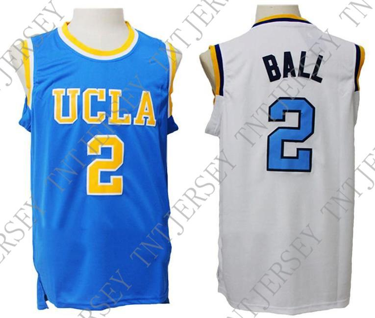 e0b78871a9e 2019 Cheap Custom Lonzo Ball #2 UCLA Bruins Basketball Jerseys Blue/White  Stitched Customize Any Name Number MEN WOMEN YOUTH JERSEY XS 5XL From  Tntjersey, ...