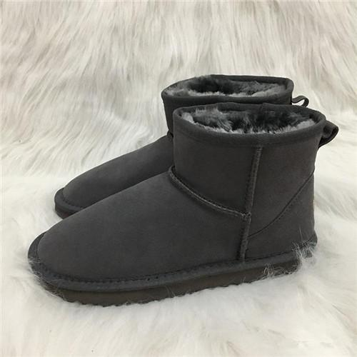 04d38147f4f Hot sale Australian Style Mens Snow Boots Waterproof Mens Winter Cow Suede  Leather Outdoor Boots 5854 Brand IVG designer shoes