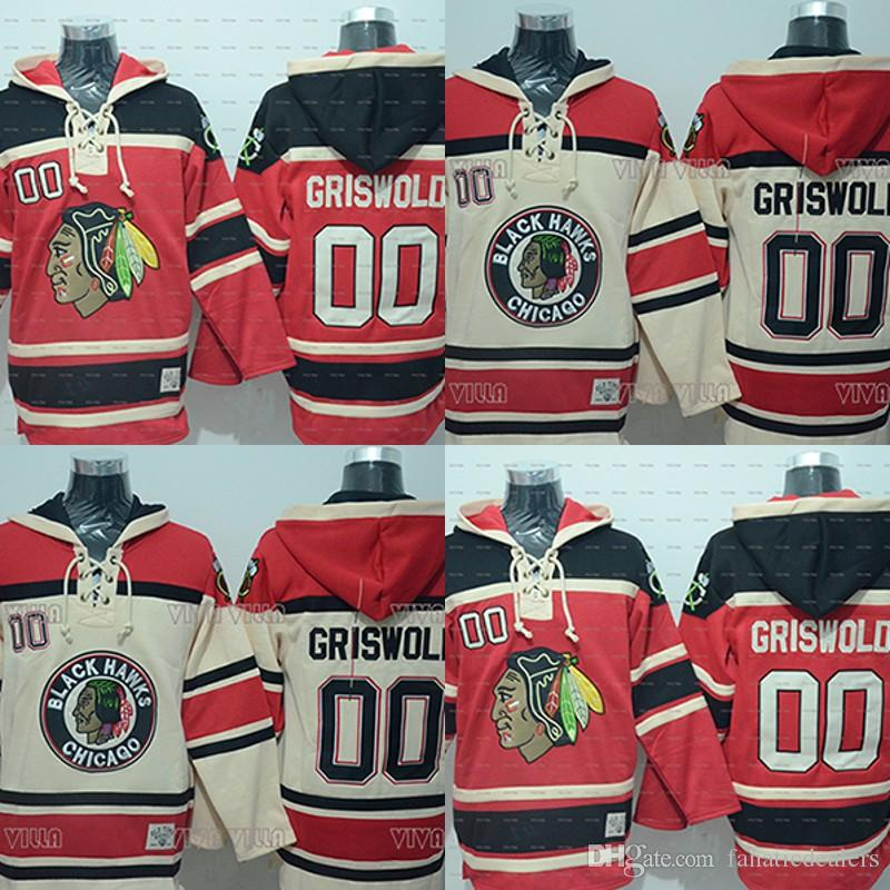 3290d35d1 Clark Griswold Hoodies Jersey  00 Christmas Vacation Movie Hockey ...