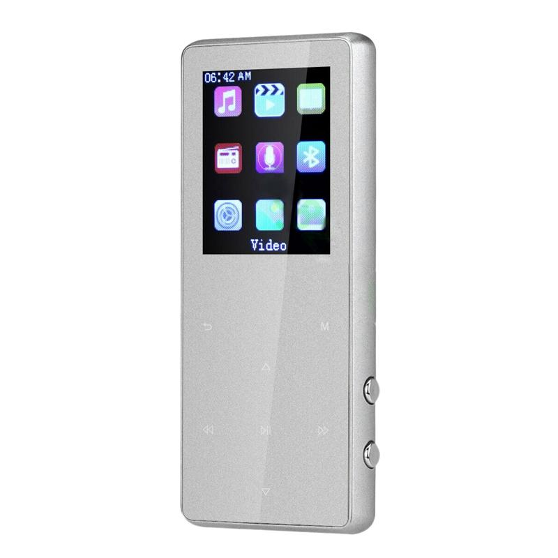 Hot Portable Bluetooth Mp3 Music Player With Fm Speaker Hi-Fi Lossless Up To 128Gb