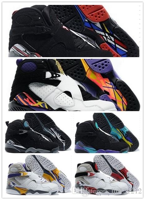 fc484ec84f6 2019 Cheap 8 8s Chrome Aqua Black Purple Basketball Shoes 8s Mens Sports  Shoes Outdoor Sneakers Training Shoes Size 12 47 Shoes For Sale Baseball  Shoes From ...