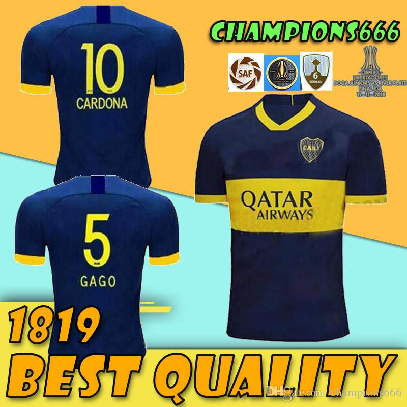 31106d12bde 2019 19 20 Boca Juniors Home THIRD SHIRT CUSTOMIZE 2019 2020 Soccer Jersey  26 Centurion 19 Bou 4 Peruzzi 9 Benedetto Football Shirts From  Champions666, ...