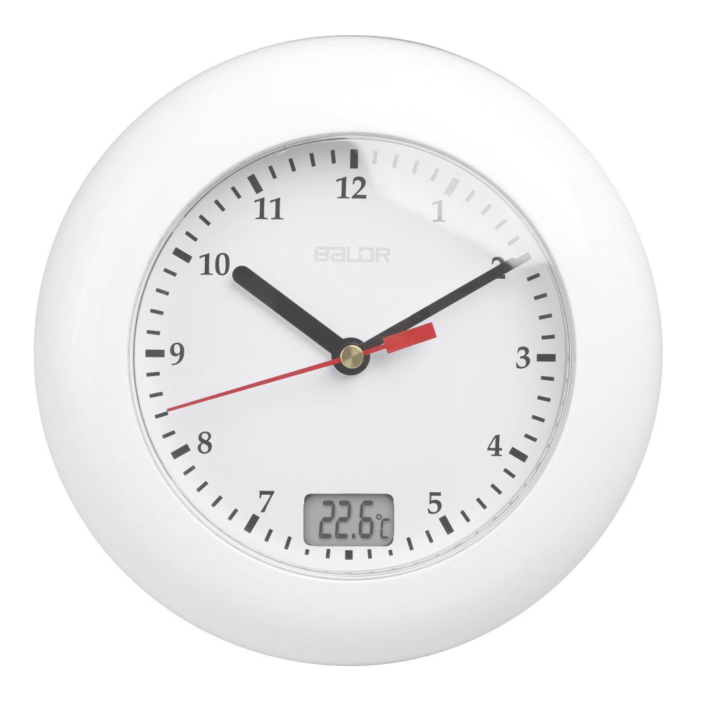 Baldr Thermometer Bathroom Wall Clocks Temperature Display Wall