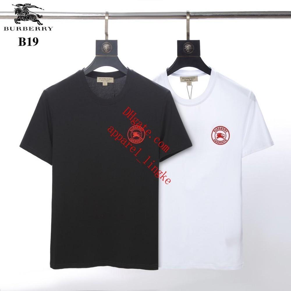 2037b910a3 2019 T-shirts for Men High Quality New Pattern Summer Fashion Black ...