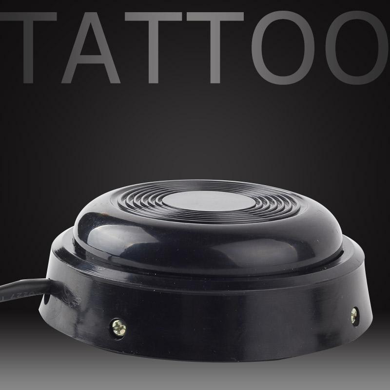 1PCS rotonda nera del tatuaggio della stella del pedale 360 macchina pedale pedale controller Power Supply