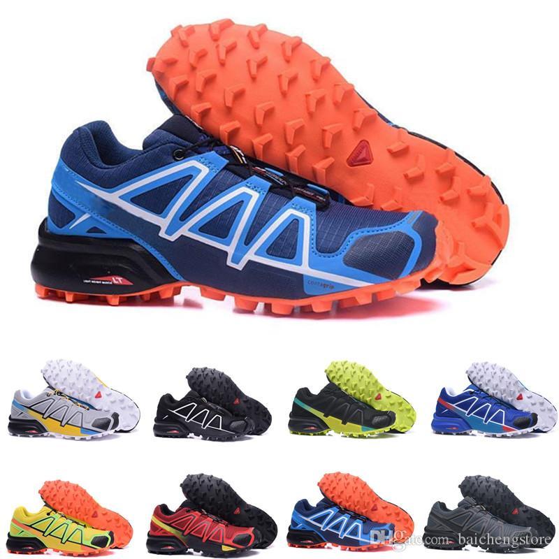 Acquista Speedcross 4 IV CS 2018 Solomon Speedcross 4 Trail Runner Migliore  Qualità Degli Uomini  Donne Sconto Scarpe Sportive Moda Sneaker Scarpe  Outdoor ... 14f76fc2e2a