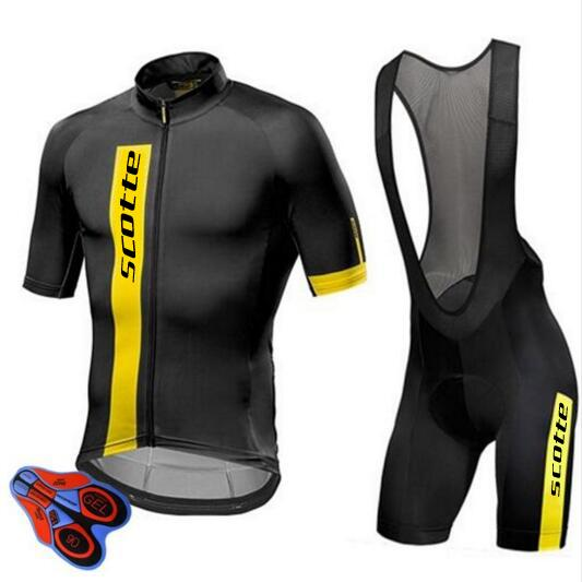 c7eb1a12adc Scotte 2018 Pro Team Cycling Clothing Road Bike Wear Racing Clothes ...
